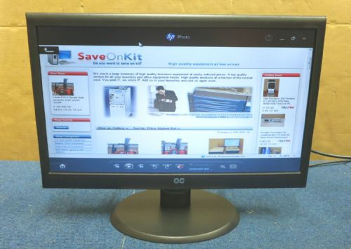 AOC N950SW 18.5 inch Widescreen TFT LCD Colour Monitor - Black 1366x768